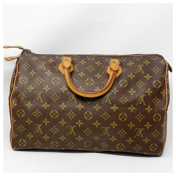 Louis Vuitton Handbags - Authentic Louis Vuitton Speedy 35 Satchel Bag